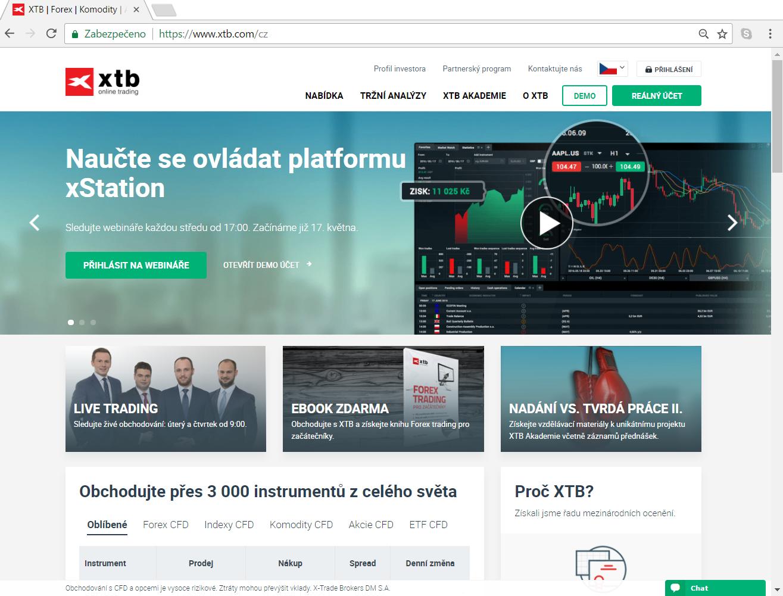 Xtb forex trading